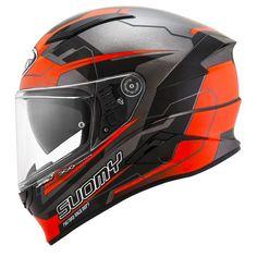 Κράνος Suomy Speedstar Camshaft Orange-Grey Suomy Helmets, Orange Grey