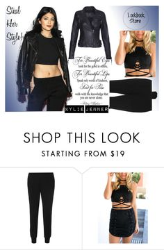 """""""Steal Her Style: Kylie Jenner"""" by lookbookstore ❤ liked on Polyvore featuring Vince"""