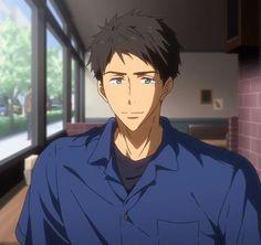 Yamazaki Sousuke, Free Characters, Fictional Characters, Makoto, Free Eternal Summer, Free Iwatobi Swim Club, Free Anime, Photography Poses, Hot Guys