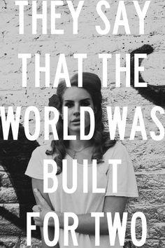 Lana Del Rey #lyrics
