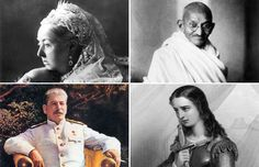 The most notable leaders in history - via Getty Images; Rühe/ullstein bild via Getty Images;