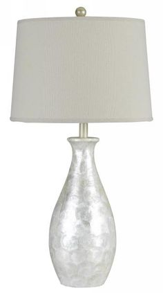 Genuine Shell Table Lamp, $139