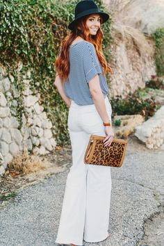 One of the trends I'm most excited about this season is the 70's looks I'm seeing everywhere. Flare jeans like these from 7 For All Mankind are back! (PC: Lori Romney Photography)