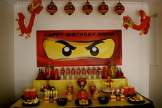 Lego Ninjago Desert Table!