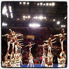 Top Gun Coed cheerleading worlds 2012. I actually really liked the pants!!