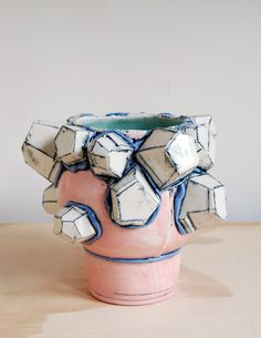 Ceramic vase by Brett Freund