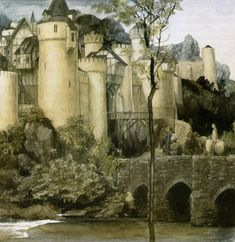 the-unknown-friend:  Alan Lee - The Mabinogion