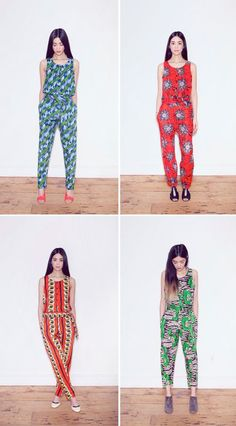 """""""I need all four of these jumpsuits from LaissezPasser. I know exactly what I would rock with them, and they would become my summer uniform."""""""