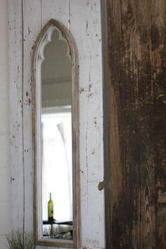 Kalalou Arched Wood Framed Mirror – Modish Store Exterior Wood, Mirror Frames, Wood Mirror, Framed Mirror Wall, Arched Window Mirror, Wood Frame, Cathedral Mirror, Frames On Wall, Wood Framed Mirror