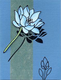 More Elizabeth Craft Designs peel offs showcased on this beautiful card.