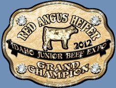 Idaho Jr Beef Expo Grand Champion Red Angus Heifer