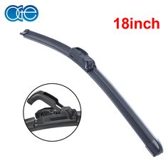 Oge 18'' Universal U-Type Windshield Wiper Blades Window Glass Silicone Rubber Auto Parts Car Accessories U Hook -  Get free shipping. This shopping online sellers provide the discount of finest and low cost which integrated super save shipping for Oge 18'' Universal U-Type Windshield Wiper Blades Window Glass Silicone Rubber Auto Parts Car Accessories U Hook or any product promotions.  I hope you are very happy To be Get Oge 18'' Universal U-Type Windshield Wiper Blades Window Glass…