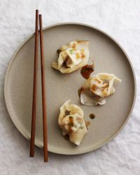 Martin Yan's Wontons in Hot and Sour Sauce Recipe on Food & Wine