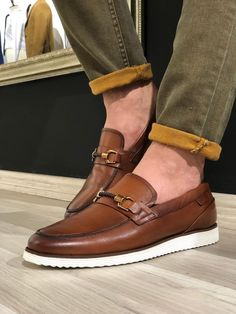 Loafers style Heritage Buckle Detail Tan Loafers Bathroom Vanities and Bedroom Vanity Sets - Elegant Tan Loafers, Tan Shoes, Casual Loafers, Leather Sneakers, Loafer Shoes, Casual Shoes, Dress Shoes, Shoes Men, Men Dress