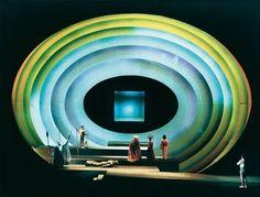 Scenography by Josef Svoboda Set Design Theatre, Prop Design, Stage Design, Scenography Theatre, Theatrical Scenery, Stage Set, Scenic Design, Stage Lighting, Source Of Inspiration
