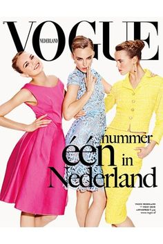 First Issue of Vogue Netherlands