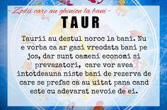 Zodii care au ghinion la bani Taur, Zodiac, Horoscope