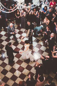 @Andrew Senft Arts our wedding reception at Cincinnati Music Hall!