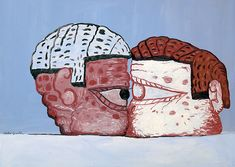 PHILIP GUSTON http://www.widewalls.ch/artist/philip-guston/ #abstract #expressionism