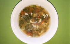 CIORBĂ CU ȘALĂU Cheeseburger Chowder, Beans, Soup, Vegetables, Vegetable Recipes, Soups, Veggie Food, Prayers, Beans Recipes
