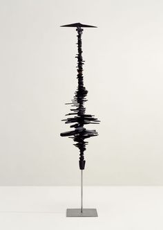 Louise Bourgeois. Femme Volage, 1951, Painted wood.