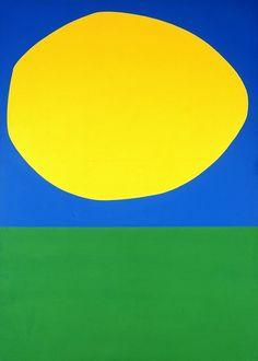 Ellsworth Kelly, 'High Yellow,' 1960, Blanton Museum of Art