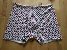 Pánské boxerky – fotonávod « Nitě všude Mens Sewing Patterns, Lingerie, Boxer Briefs, Patterned Shorts, Casual Shorts, Short Dresses, Underwear, Design, Fashion