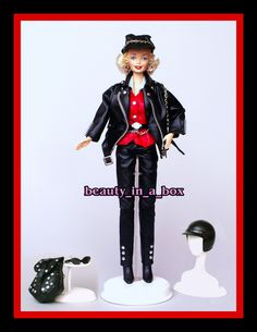Marilyn Monroe Harley Davidson 1 Biker OOAK Celebrity Redress Loose Barbie Doll | eBay