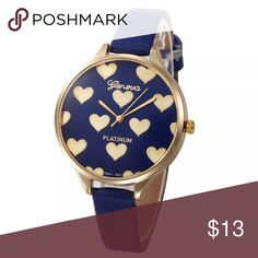 Blue Heart Watch Blue Heart Watch                                                                                 🔹New, in package Accessories Watches