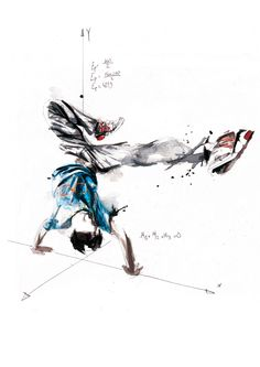 Break Dance - Volnorez by Florian NICOLLE, via Behance