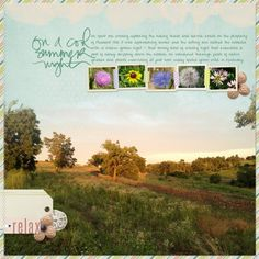 Scrapbooking Ideas for Photo Backgrounds and Foundations |  Audrey Neal | Get It Scrapped