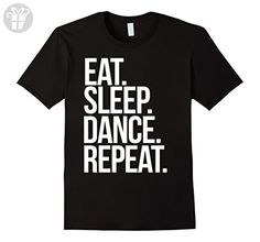Eat. Sleep. Dance. Repeat. shirt for a dancer t-shirt - Male Large - Black (*Amazon Partner-Link)