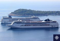 MSC Cruises Orders Four Ultra-luxury Ships from Fincantieri Msc Cruises, Tourism, Ships, Luxury, News, Turismo, Boats, Travel, Traveling