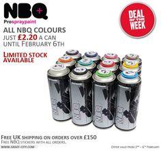 NBQ Mega Sale - a can this week!
