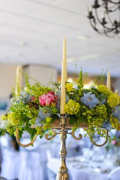 Gorgeous Candelabra Floral Centrepiece