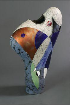 Blue Rhythm by Michael-Gustavson Modern Ceramics, Contemporary Ceramics, Aboriginal Painting, Principles Of Design, Ceramics Projects, Pottery Plates, Contemporary Sculpture, Glass Ceramic, Ceramic Design