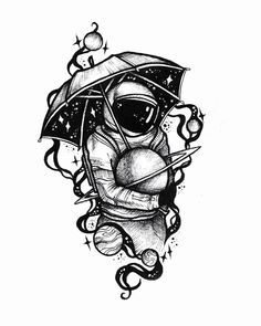 tattoo drawings My small spaceman collection, let me know your favorite dont copy or use without permission Copyright Alexandra Yarushyna Astronaut Tattoo, Tatoo Art, Body Art Tattoos, Book Tattoo, Tattoo Sketches, Art Sketches, Cartoon Drawings, Cute Drawings, Space Drawings