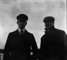 George W. Vanderbilt and and his niece's (Lila Vanderbilt Sloane) husband William B. Osgood Field.
