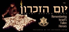 Today's Yom ha Zikaron    the total number of soldiers and security personnel who fell since the War of Independence is more than 20.368. The total number rises to 22,993 when including those who fell in the struggle for the state before 1948.    With their death they commanded us to life! Lechaim!