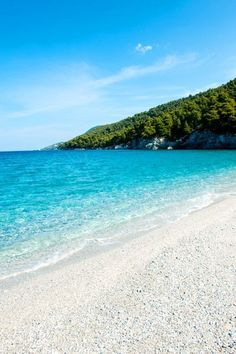 Kastani Beach on the charming Greek island of Skopelos #Greece #MammaMia