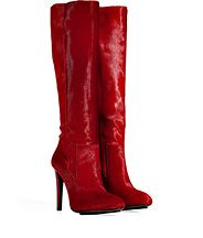 Ruby Red Haircalf Boots by BURAK UYAN