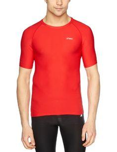 Asics IM - Camiseta de running para hombre, tamaño XXL, color rojo #camiseta #starwars #marvel #gift