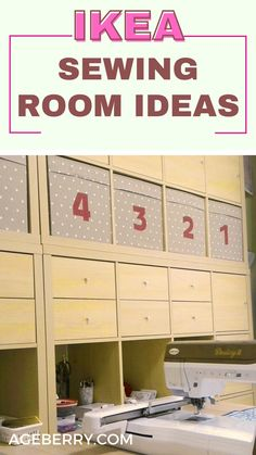 Looking to organize your sewing room? I have an article on my blog on how I organized my sewing space with IKEA products. Check out my DIY ideas for sewing room table, sewing room furniture, shelving ideas for sewing room. These easy and inexpensive IKEA products helped me to organize everything very well. Sewing For Beginners Diy, Sewing For Dummies, Sewing Basics, My Sewing Room, Sewing Rooms, Easy Sewing Patterns, Sewing Tutorials, Sewing Room Furniture, Ikea Products