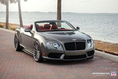 Bentley Continental GTC V8 S Looks Fundamentally Stylish On Custom Wheels