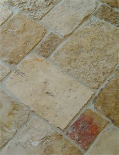 Antique Jerusalem Stone. Antique architectural limestone from Israel. Flooring, counters, bath, kitchen.