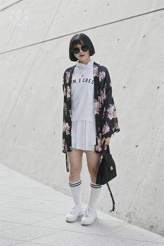 Seoul Fashion Week 2015 S/S Street style!!! todo basta  con tu imaginación