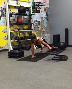 """8,792 Likes, 435 Comments - Alexia Clark (@alexia_clark) on Instagram: """"STACKED PACK SIX PACK CIRCUIT!  3 rounds of this circuit! Stack the steps side to side three times…"""""""