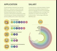 How to Pick Your First Programming Language Based on the Life You Want - part 2 - Application and Salary