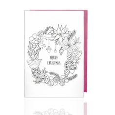 Coloring Christmas Card www.harvesters.co.kr