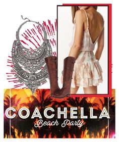 """""""Coachella Beach Party - Angela"""" by keywolf ❤ liked on Polyvore featuring Lucchese"""